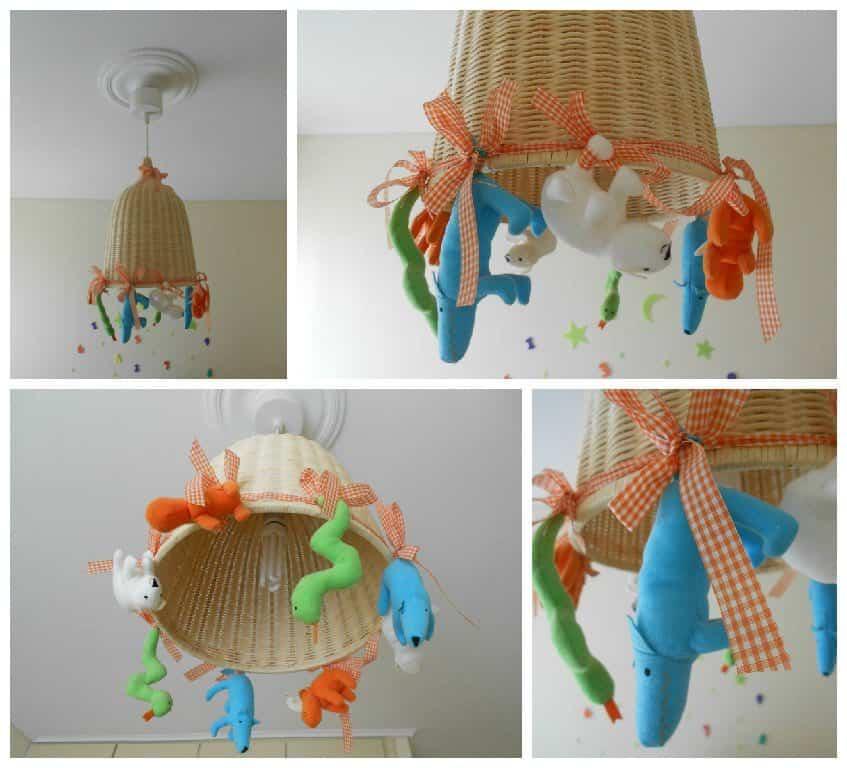 Custom Kid Ceiling Lamp • Recyclart