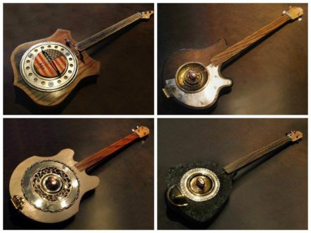 Wunkywerks Found Object Guitars