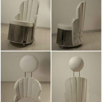 Stylish Washing Machine Drum ArmChair