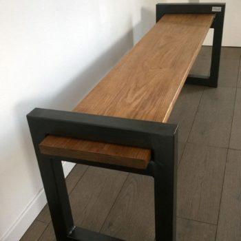 Banc Industriel Design / Wood & Metal Industrial Bench