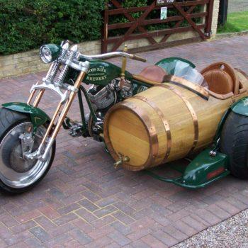 Wine Barrel Sidecar