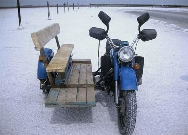 Pallet Bench Sidecar Recycled Pallets