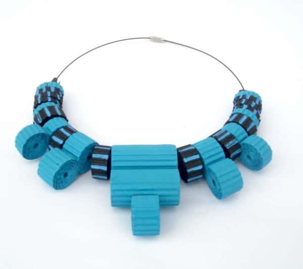 Playful Jewelry with a Fairly Classic Line Focused on Eco-friendly and Natural Materials Upcycled Jewelry Ideas