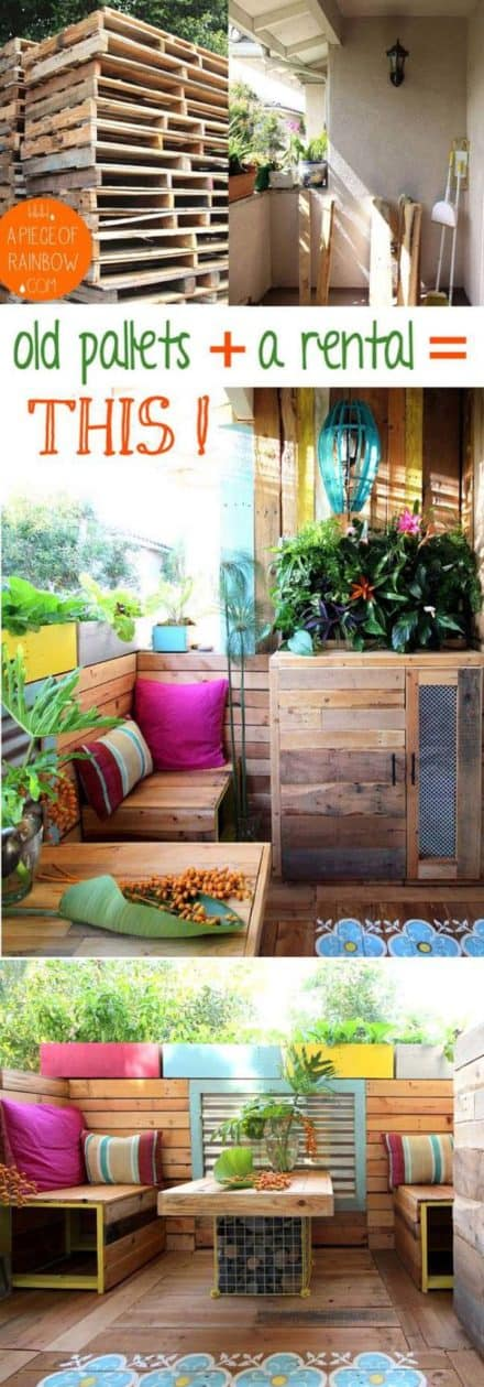 Tropical Pallet Paradise: A Renters' Remodel Story