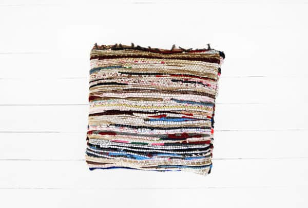 Rag Rug Cushion Clothing