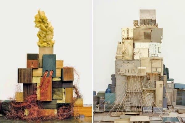 Sculptural Installations From Landfill Waste by Vincent Skoglund Recycled Art