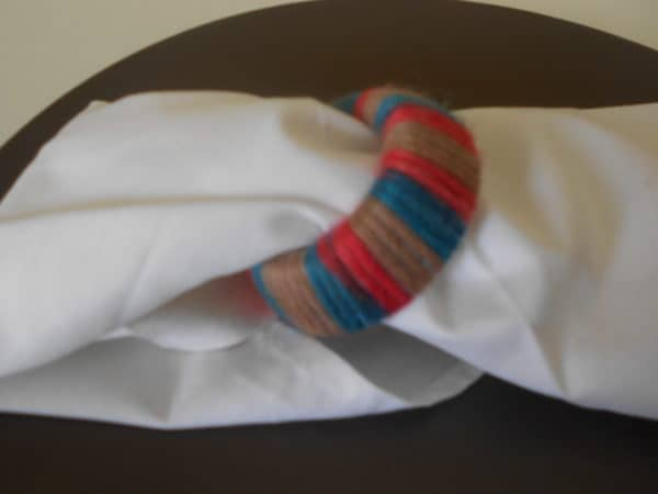 Napkin Ring From Nursing Bottle Parts Accessories Do-It-Yourself Ideas