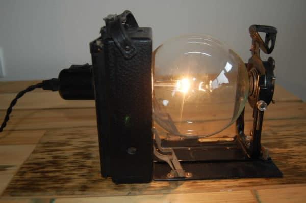 Bellows Cam Light & Brownie Box Cam Light Lamps & Lights