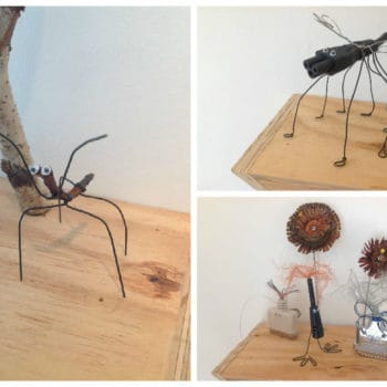 Insects From Recycled Materials