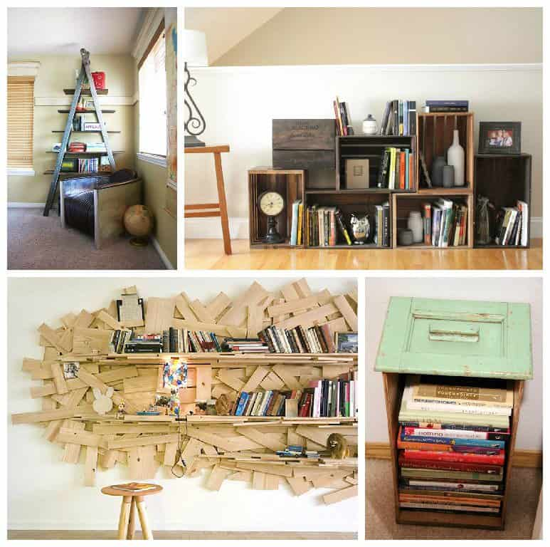 Making Your Own Bookshelves • Recyclart
