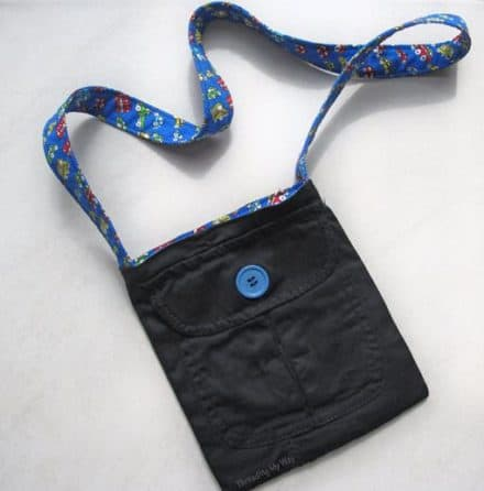 Diy: Upcycled Pocket Bag