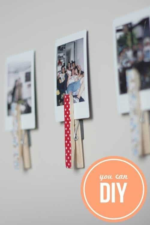 50+ Creative Ways of Reusing Clothespins Accessories Do-It-Yourself Ideas