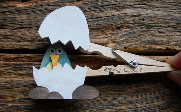 unique-clothespin-crafts-art-project-egg-bird-children-gift