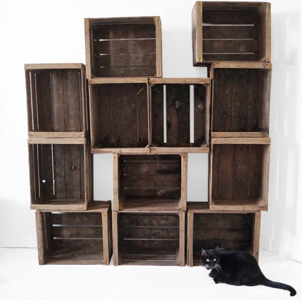 Apple Crates Shelf Recycled Furniture
