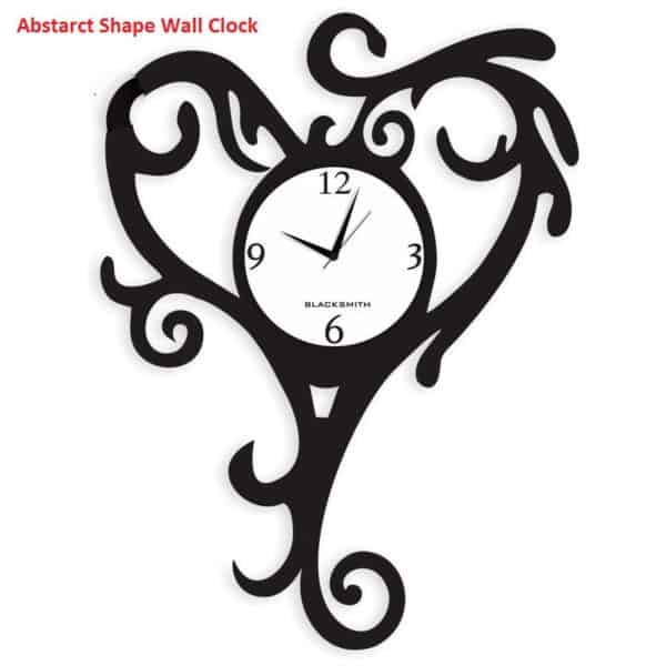 Blacksmith_Abstract_Shape_Wall_Clock_-_Black_713472_1