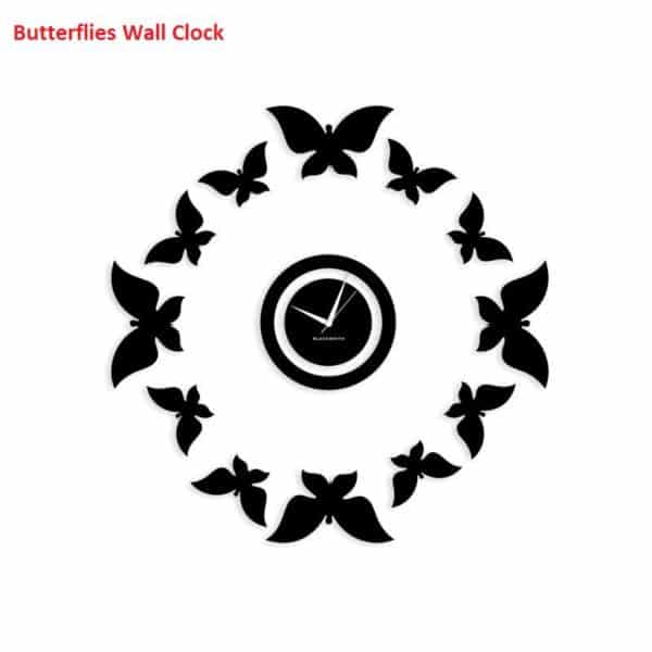 Blacksmith_Awesome_Butterflies_Wall_Clock_-_Black_713605