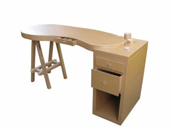 Recycled Cardboard Removable Desk Recycled Cardboard Recycled Furniture
