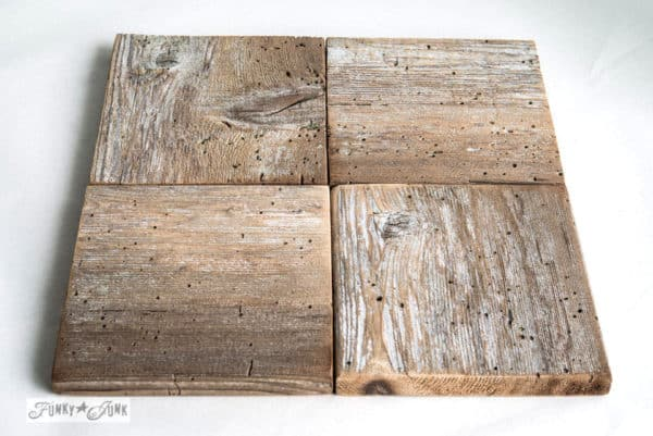 Reclaimed Wood Into Original Puzzle Coaster Accessories Wood & Organic