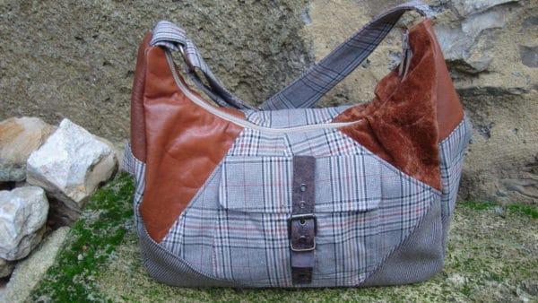 Fabric Diversion: Bags Made Out Of Recycled Clothing Accessories Clothing