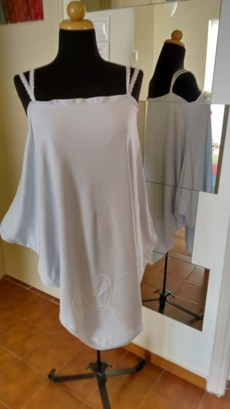 Night Gown Made From Cotton Baby Blanket Clothing