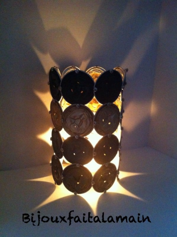 Presentation of Récup Art, Jewelry Made with Recycled Nespresso Capsules Upcycled Jewelry Ideas