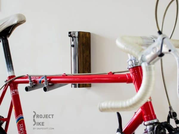 Bicycle Frame Into Bike Rack Upcycled Bicycle Parts