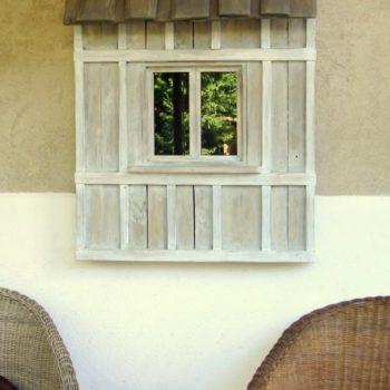 Fenêtre Décorative En Bois De Palettes / Decorative Window From Recycled Pallet Wood