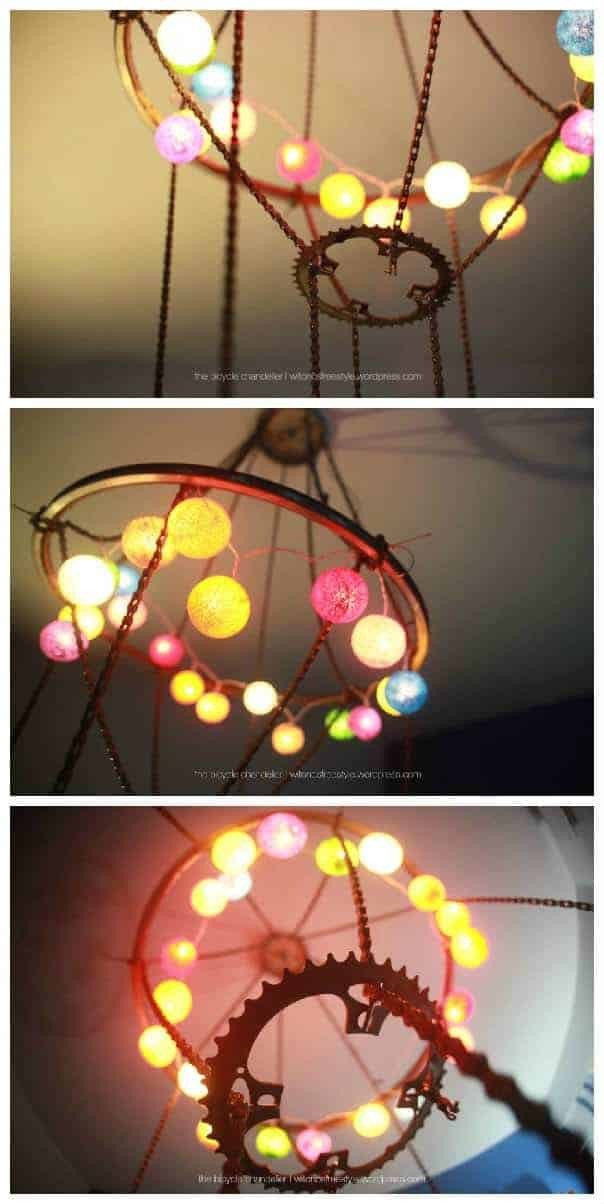 Bicycle Chandelier • Recyclart