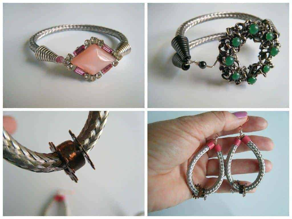 Up-cycled TV Cable Into Jewelry