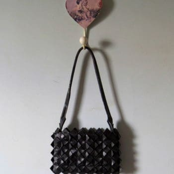 Handbag Made Out Of Recycled Bike Inner-tube / Camara de Ar