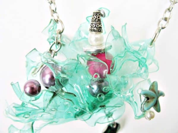 Summertime… Jewelry From Recycled Plastic Bottles Recycled Plastic Upcycled Jewelry Ideas
