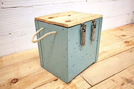Cubie: Made Out Of Old Army Ammunition Crates