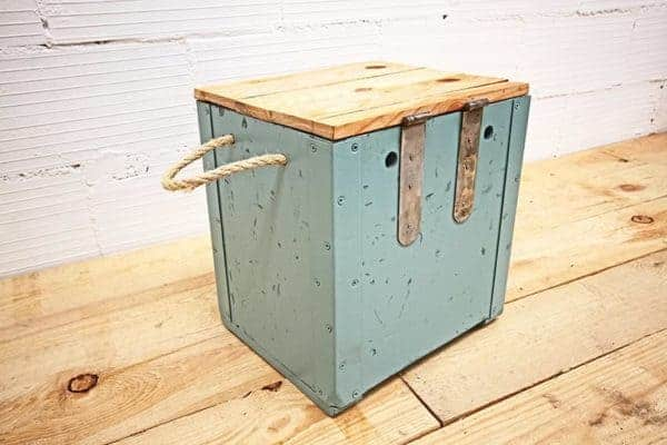 Cubie: Made Out Of Old Army Ammunition Crates Recycled Furniture