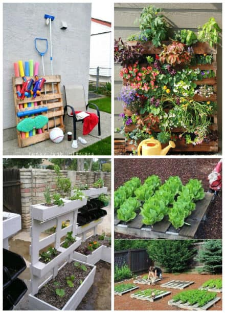 Easy Pallet Ideas For Your Garden Or Balcony