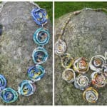 Jewelry Made Out of Recycled Magazines