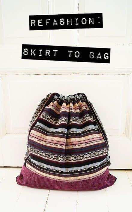 Skirt To Bag