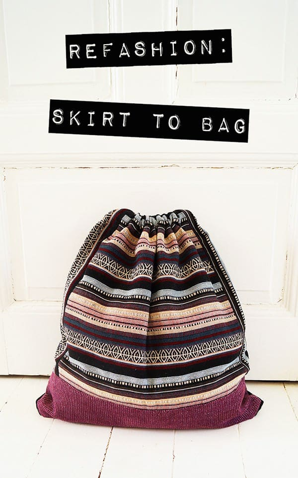 Skirt To Bag • Recyclart