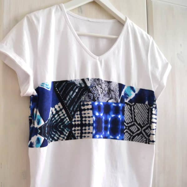 Upcycling an Old T-shirt Into a Modern Top Clothing Do-It-Yourself Ideas