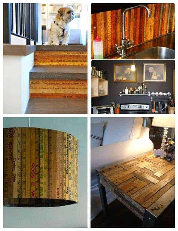 5 Creative Ways To Reuse Wooden Rulers In Your Home Decoration U2022 Recyclart