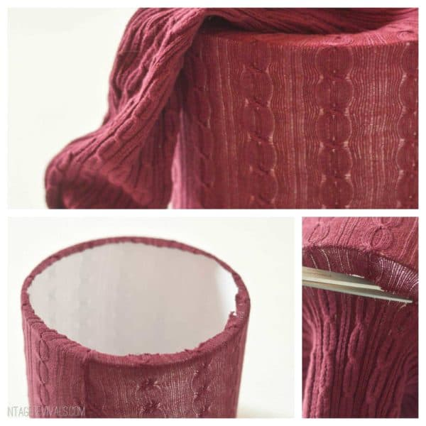 Upcycled Old Leggings Into Beautiful Lampshades Do-It-Yourself Ideas Lamps & Lights