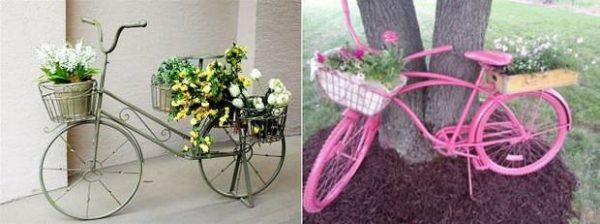 repurposed-bike-used-as-garden-decoration-with-flowers