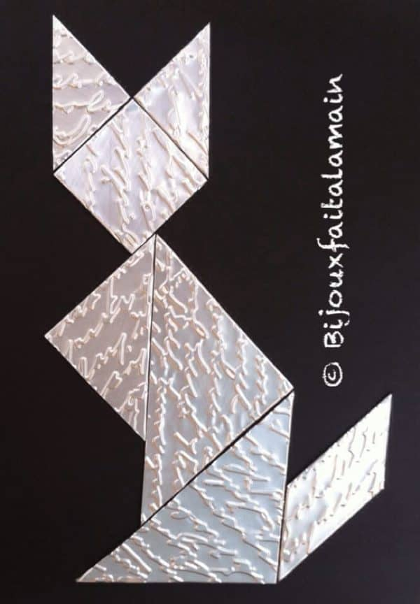 How To Make A Puzzle (Tangram) With A Soda Can Do-It-Yourself Ideas Recycled Packaging