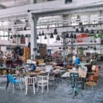 Artkraft Gallery Tour: a Paradise for Vintage Industrial and Agricultural Furniture from the 20th Century