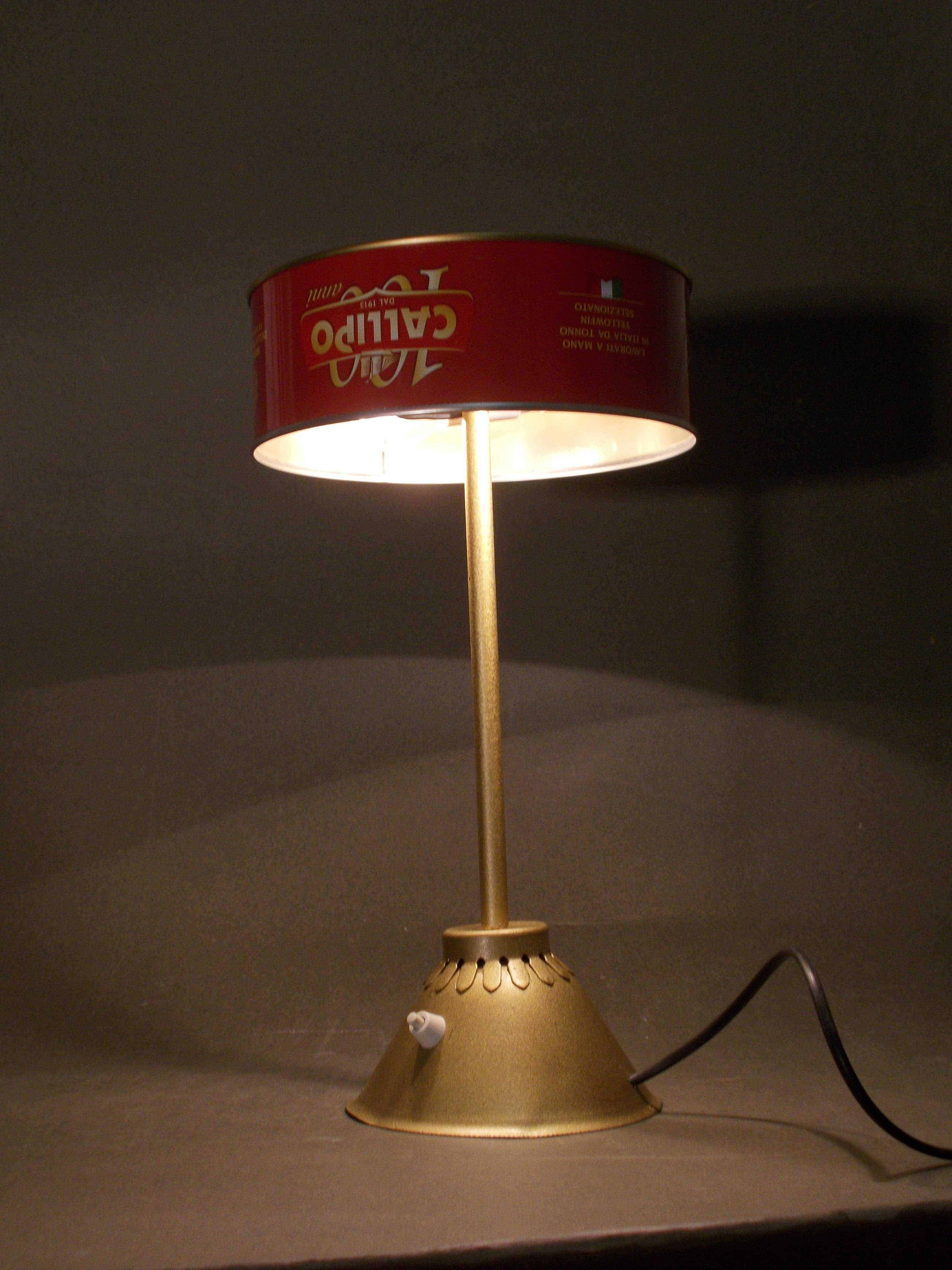 Tonno In Scatola / Upcycled Tuna Can Into Desk Lamp ...
