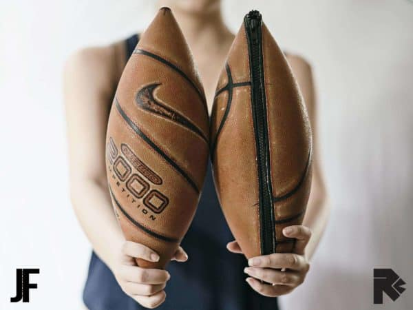 2nd Chance: Bags From Upcycled Basketball Balls Accessories Recycled Sports Equipment