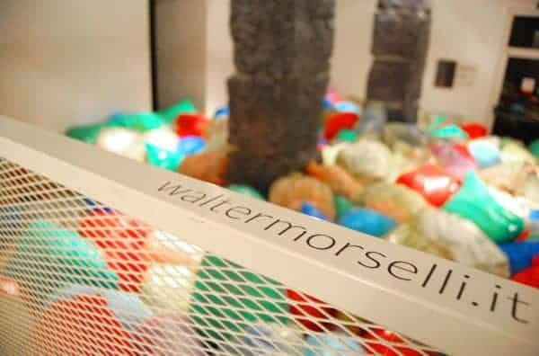 Caos Swim – Walter Morselli Art Exhibition Recycled Art
