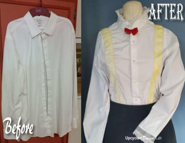 Upcycled Mary Poppins Costume – Blouse & Hat Clothing Do-It-Yourself Ideas
