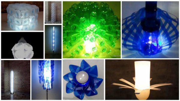 20 Lamps Made Out Of Recycled Plastic Bottles Lamps & Lights Recycled Plastic