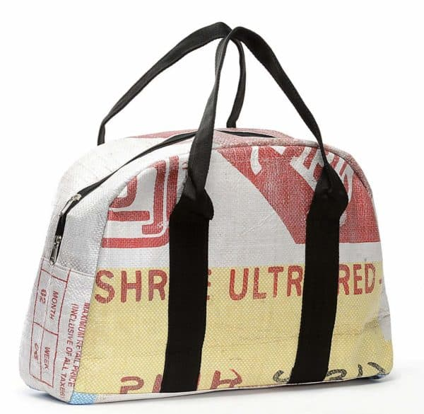 Recycled Cement Bags Into Sustainable Fashion Accessories
