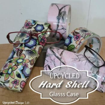 DIY: Hard Shell Glasses Case From Upcycled Tin Cans